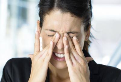 az emberek hirtelen látásvesztése