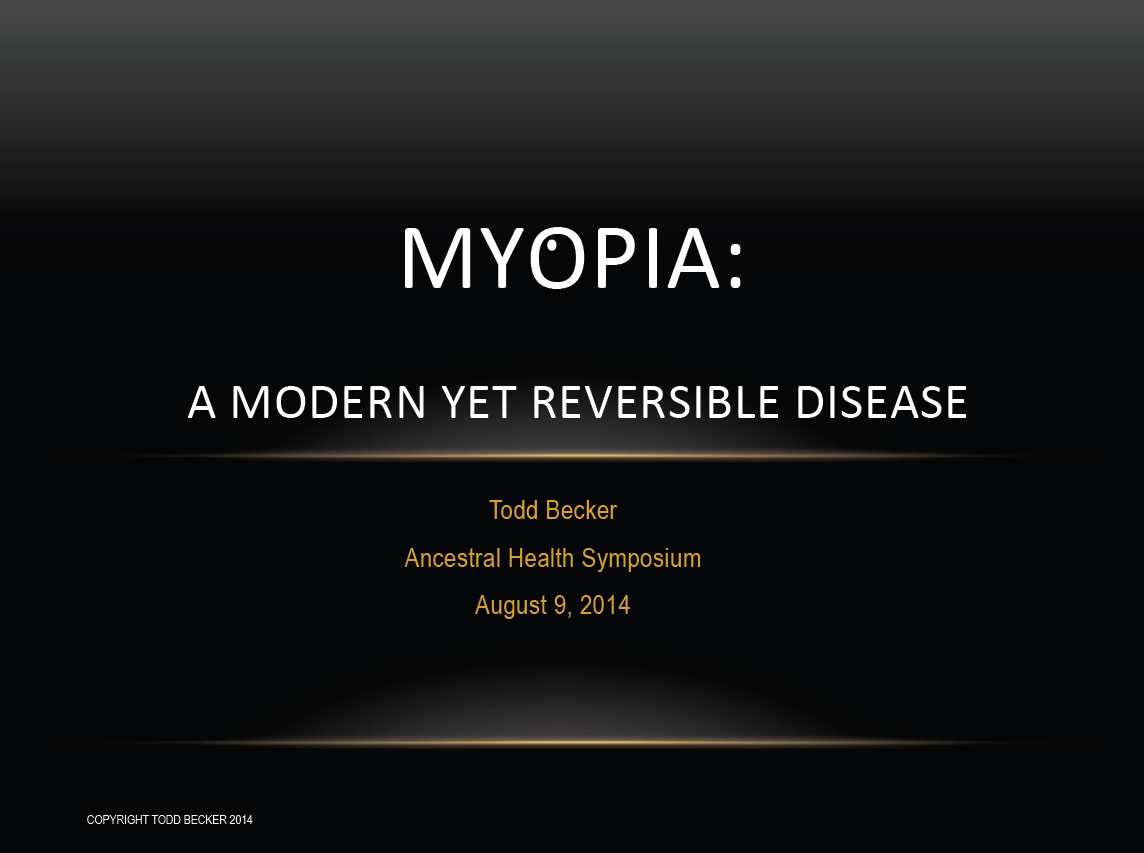 severe myopia forum