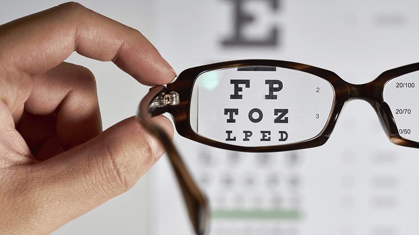 tenyér és látás helyreállítása