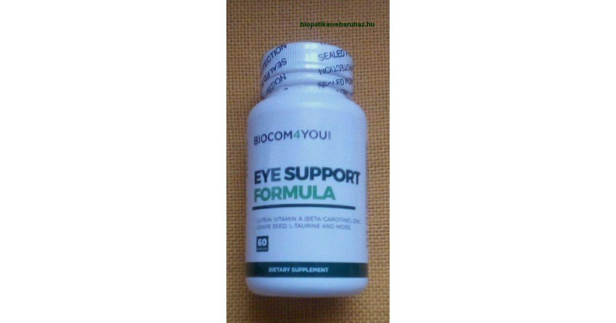 vitaminok a látástól
