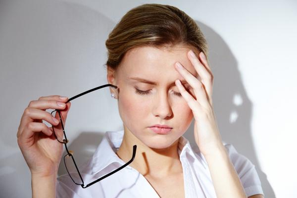 csökkent látás szédülés gyengeség
