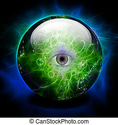 labda és látás