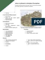 """Építészeti térképzet, a vakok építészeti """"térlátása"""""""