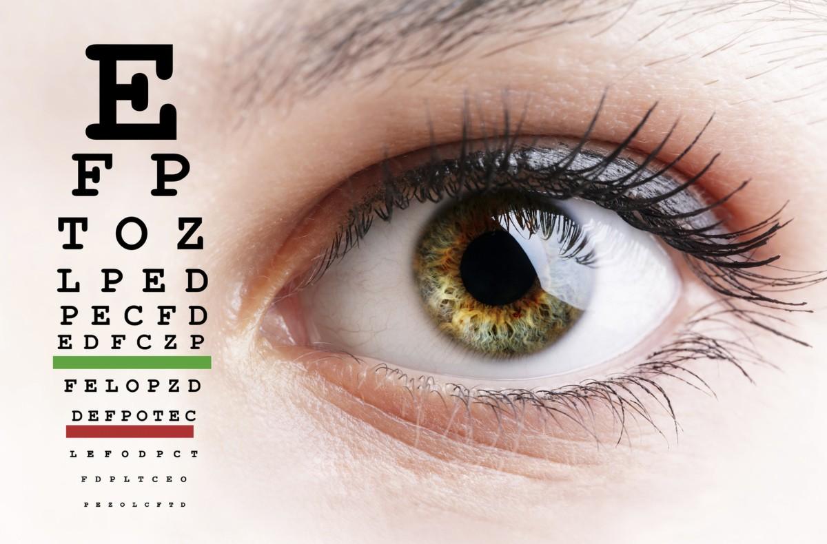 ellenőrizze a lány látását