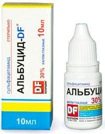 A kloramfenikol szemcseppek a gyermekek értékeléséhez