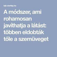 Látás javítása   Tippek   Praktikák • st-andrea.hu