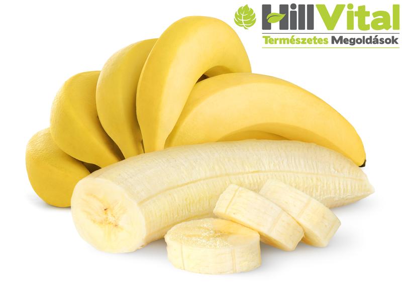 A banán 10 gyógyhatása