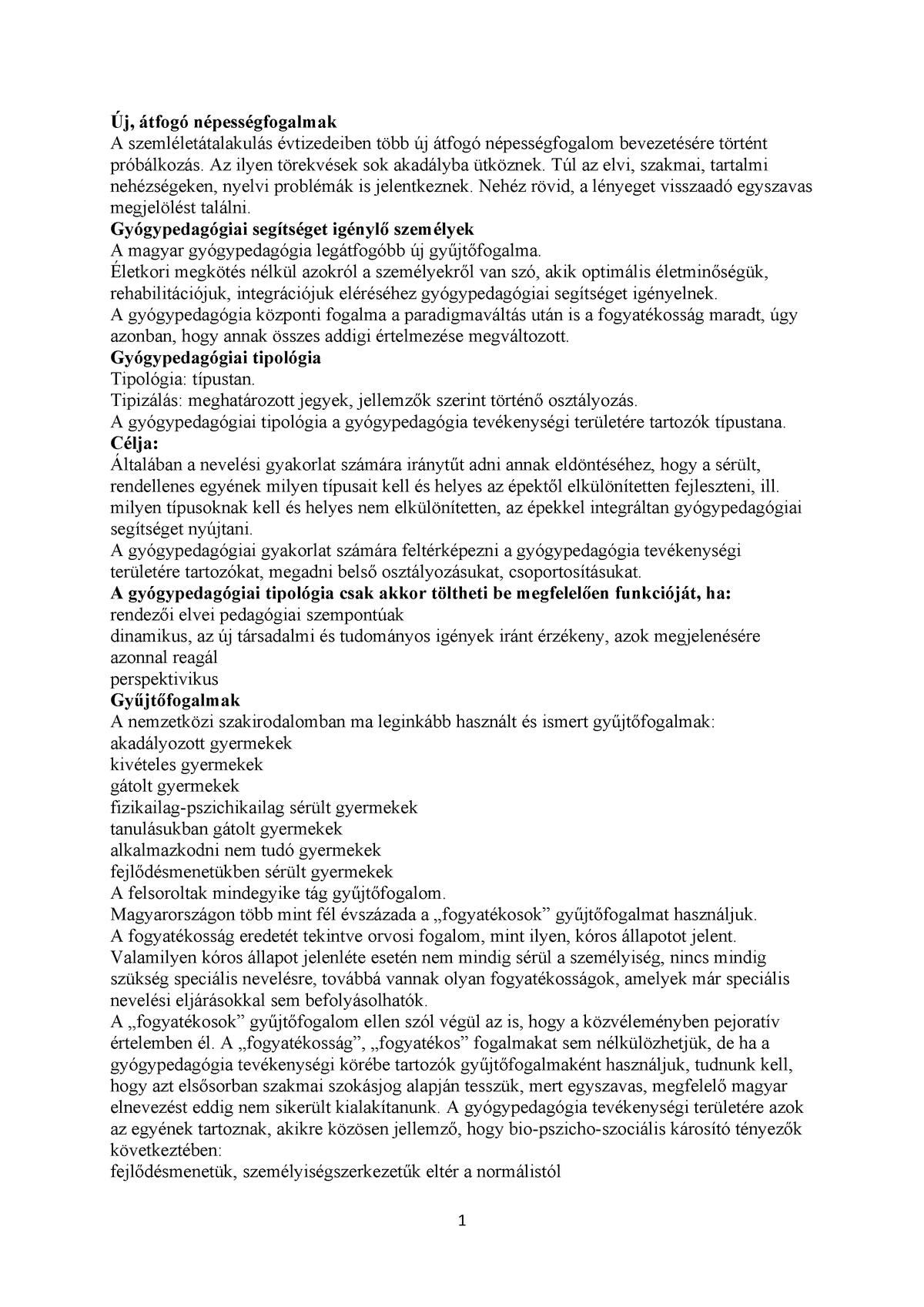 Fogyatékossági típusok | st-andrea.hu