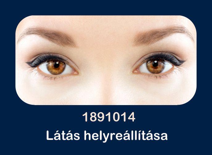 a látás helyreállítása természetes
