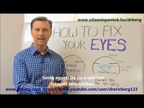 hogyan lehet gyógyítani az egyidejű látást első táblázat a látásvizsgálathoz