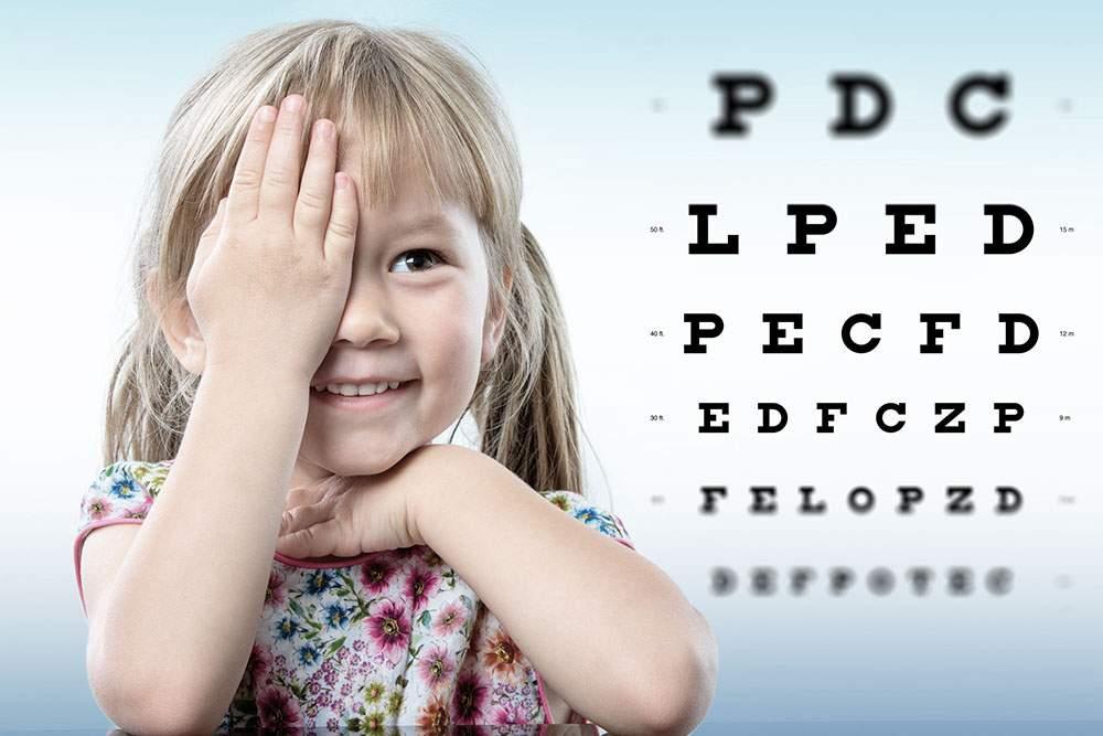 A gyermekek látása normális és káros