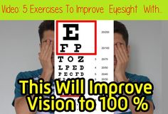 Látás bates módszer. A rövidlátás kijavítása bates módszerrel