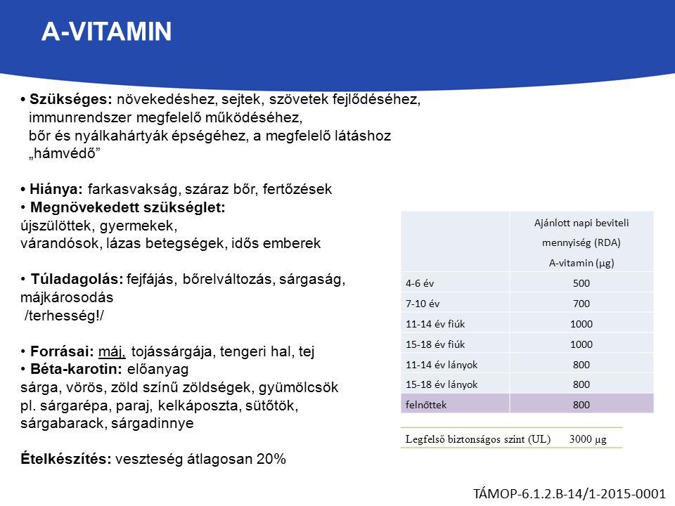 Karotinoidok   Hatóanyag adatbázis