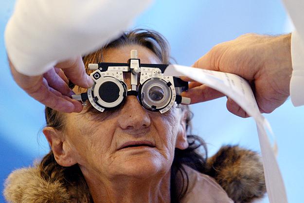 rossz látással járó osteopathia szemészeti berendezések lézerei