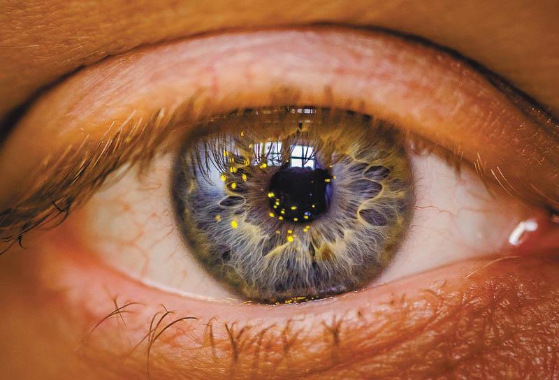 két szem látásélessége egyszerre