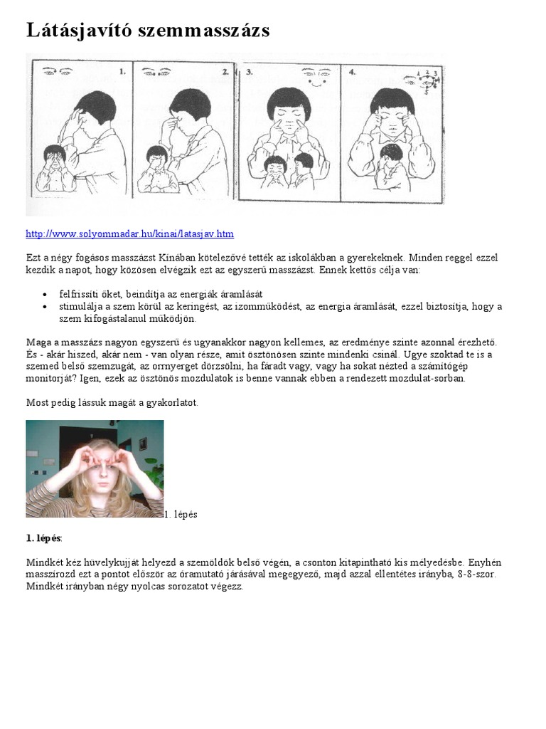 látásjavítás, hol kell csinálni az életkorral kapcsolatos látás helyreállítása
