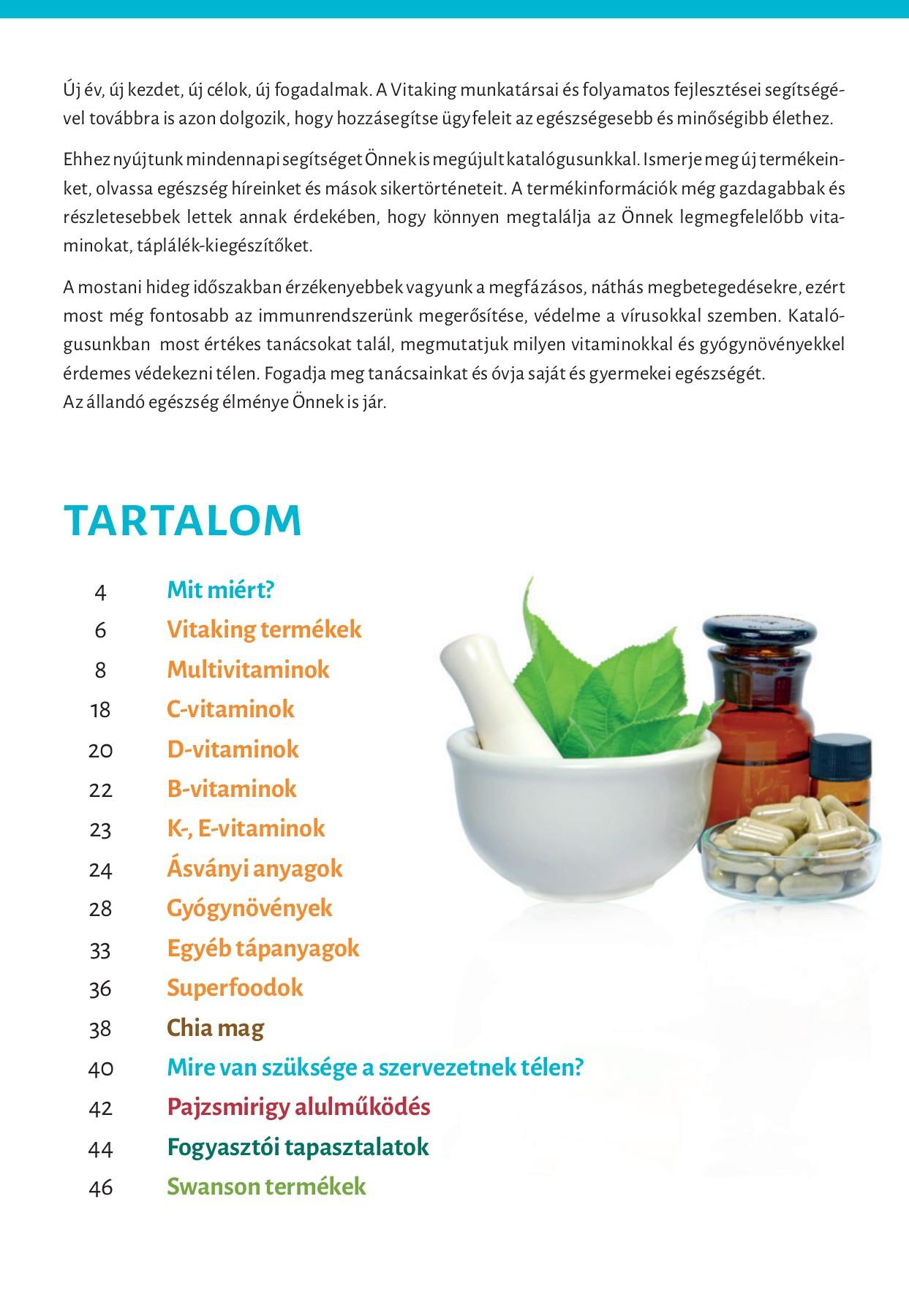 milyen vitaminok a látáshoz