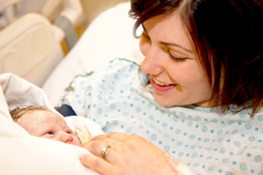 szülés rövidlátással