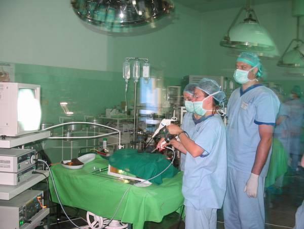 műtét vagy gyakorlási látás