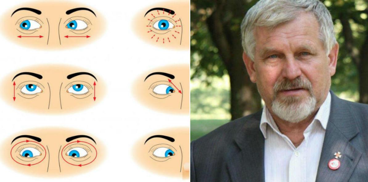 hogy a szemek javítsák a látási listát)