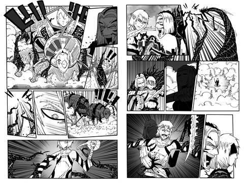 Szemek, állhatatos. Manga, állhatatos, szemek, különböző, mód, anime, colors.