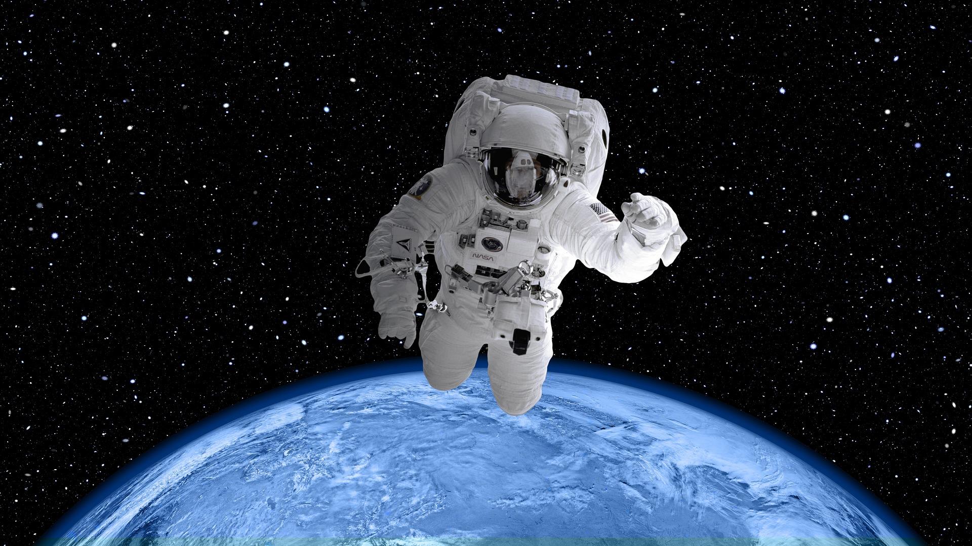 látás űrhajósok
